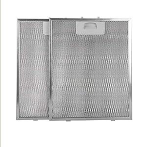 filtre à graisse métallique hotte 320x260 (Pack de 2)