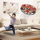 Mini Drône UFO drône USB rechargebale pour Enfants et Adultes, Mini Drone de Poche Mouvement Main contrôlée Drone Flying Jouets Cadeau de jeu d'avion de vol télécommande télécommandé RC Quadrotor