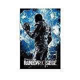 ASFAFG Acryl-Spiel-Poster Vigil Rainbow Six Siege Poster
