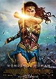 CoolPrintsUK Filmposter Wonder Woman, randlos, lebendig,