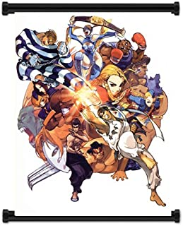 Street Fighter Alpha Zero 3 Game Fabric Wall Scroll Poster (16