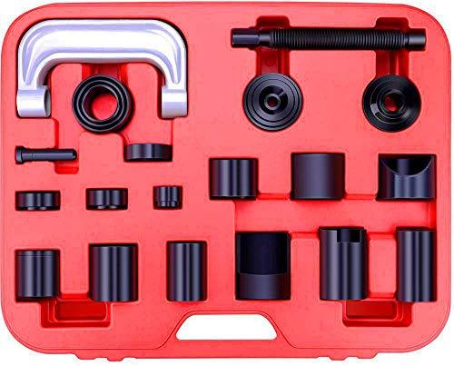 Juego extractor e instalador rotulas y silentblock universal 21 piezas