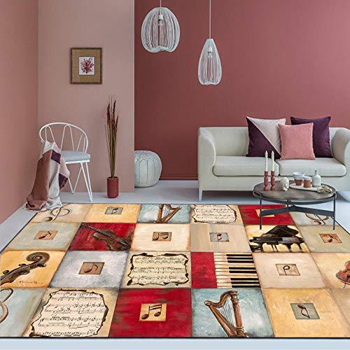 YanLong Retro Viool de mode merkt mozaïektapijtslaapkamerdeurwoonkamer-keukenmat