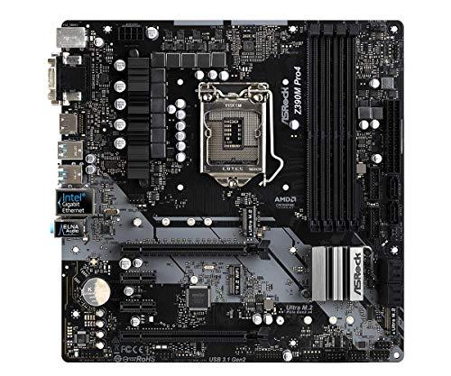 『ASRock Intel Z390 チップセット搭載 Micro ATX マザーボード Z390M Pro4』の7枚目の画像