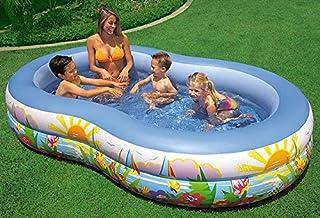 INTEX Swim Center Inflatable Paradise Seaside Kids Swimming Pool - 56490