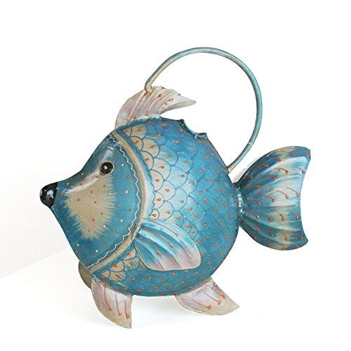 Exner Gießkanne Fisch KANU, Metall, ca. 3 L | EX-224273 | 4045406201725