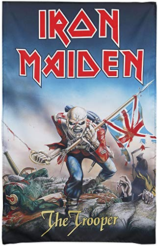 Unbekannt Fahne Iron Maiden The Trooper 66 x 105 cm