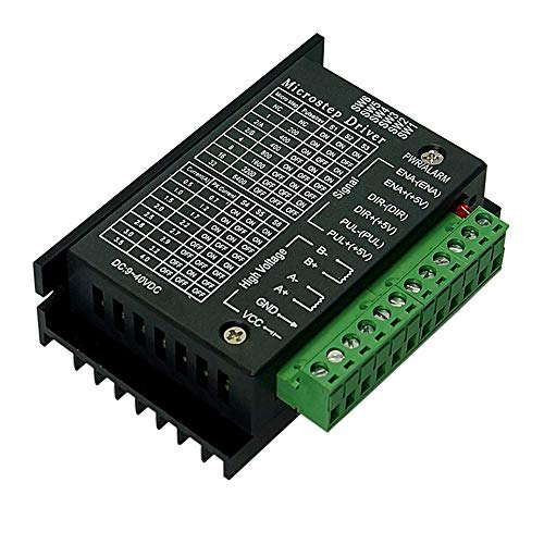 COVVY TB6600 4 A 9-42 V Schrittmotorsteuerung, CNC-Controller, 32 Segmente, 2/4 Phasen, Hybrid-Schrittmotorsteuerplatine