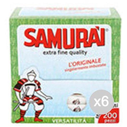 Samurai sp-610750-kit Zahnstocher, Holz, Braun