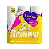 Renova Papel Higiénico Skin Care Purissimo - 12 Rollos Blanco Puro
