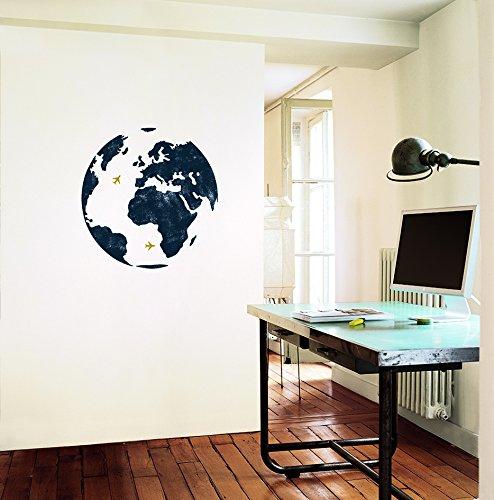 Unbekannt Pared Adhesivo Mapa del Mundo Globo Terráqueo