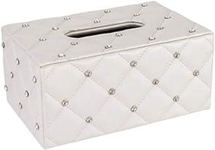 Baskets & Bins European-Style Diamond Paper Tissue Box Drawer Box Creative Dining Table Paper Drawer Box Living Room Coffe...