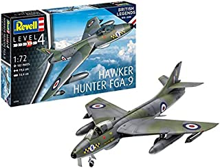 Revell-100 Years RAF: Hawker Hunter FG Maqueta Avión, Multicolor, 1:72 (03908)