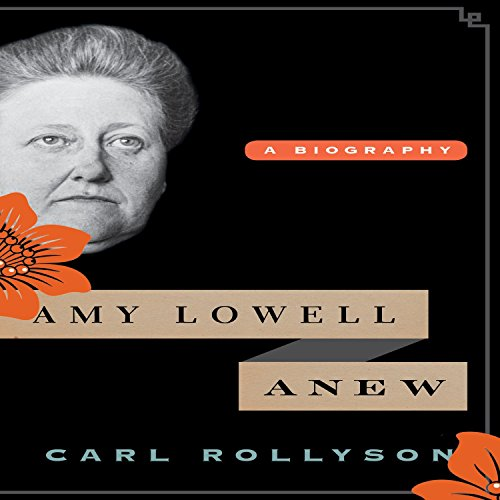 Amy Lowell Anew audiobook cover art