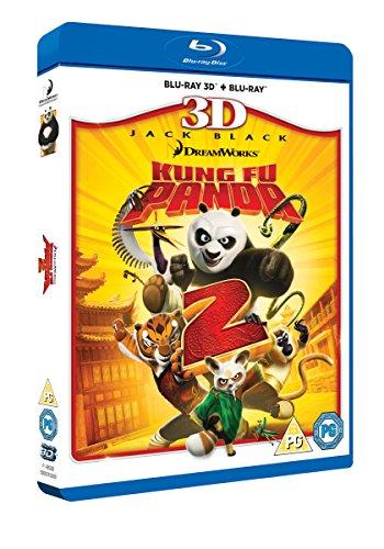 Kung Fu Panda 2  BLU RAY 3D + BLU RAY [Blu-ray]