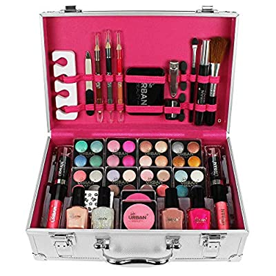 60 Piece Cosmetic Makeup Vanity Case By Urban Beauty