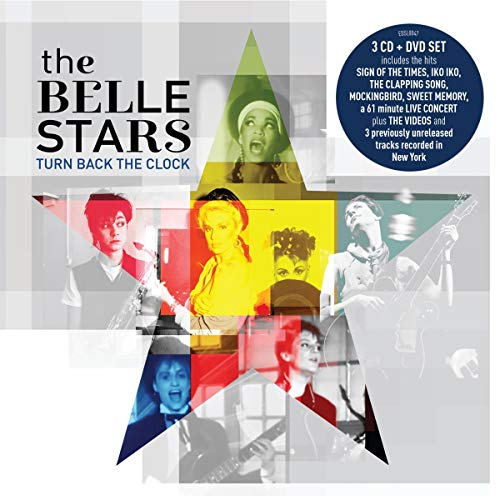 The Belle Stars Turn Back The Clock 3 CD and DVD Set