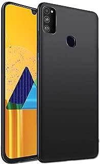 Tarkan Royal Ultra Slim Flexible Soft Back Case Cover for Samsung Galaxy M30s (Black) 360 Degree Coverage