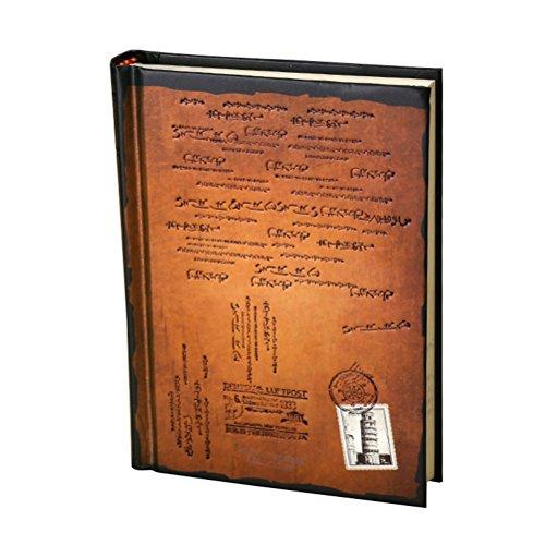 Tinksky Riviste difficile coprono diario Notebook Notepad - taglia S (arancione)
