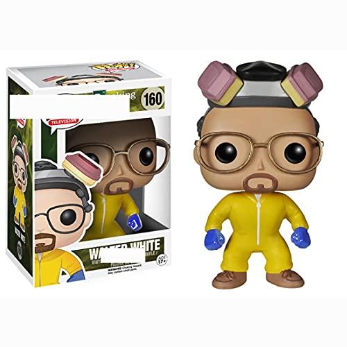 Pop Breaking Bad Heisenberg Saul Goodman Walter White con Caja Figuras De Acción De Vinilo Modelo...