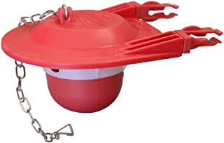 Long Lasting Rubber Korky 100BP Ultra High Performance Flapper Fits Most Toilets Made in USA Small Red Easy to Install