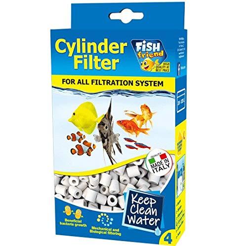 FishFriend CILINDRETTI CANNOLICCHI Ceramica Filtro Biologico Acquario Dolce Marino 500 GR