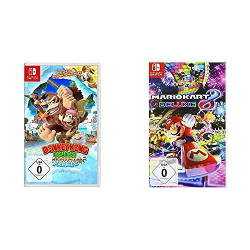 Donkey Kong Country Tropical Freeze - [Nintendo Switch] & Mario Kart 8 Deluxe [Nintendo Switch]