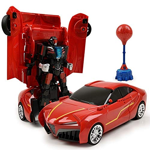 Why Should You Buy Woote Kids Deformed Remote Control Car Toy,2.4Ghz Robot Car Toys with Transform...