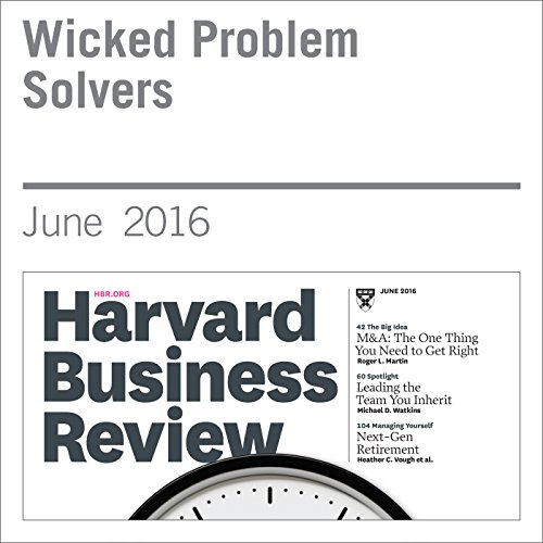 Wicked Problem Solvers audiobook cover art