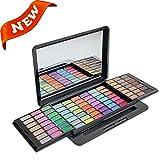 PhantomSky 84 Colores Sombra De Ojos Paleta de Maquillaje Cosmética - Perfecto para Uso Profesional y Diario