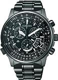 シチズン CITIZEN 腕時計 PROMASTER プロマスター エコ ドライブ 電波時計 スカイシリーズ ダイレクトフライト BY0084-56E メンズ