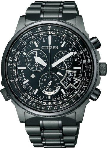 [シチズン]CITIZEN 腕時計 PROMASTER プロマスター エコ・ドライブ 電波時計 スカイシリーズ ダイレクトフライト BY0084-56E メンズ