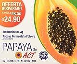 Integratore alimentare a base di papaia fermentata con vitamine b2 e b12, importanti per sostenere il metabolismo energetico Formato bustine