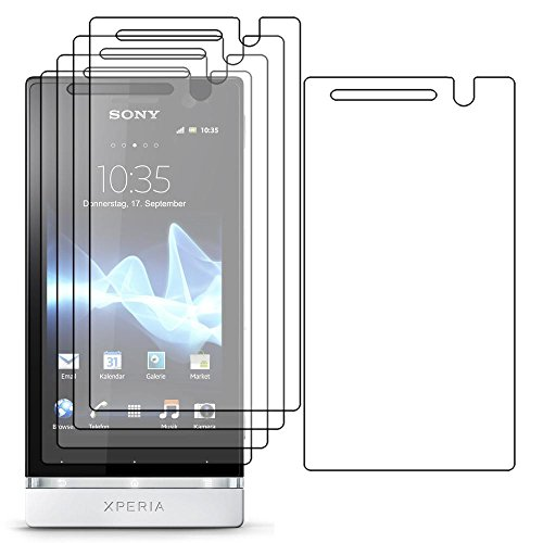 ebestStar - Pack x5 Protector Pantalla Compatible con Sony Xperia U, Sony...