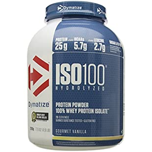 Dymatize ISO 100 Gourmet Vanilla - 2.2kg