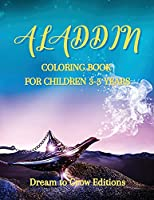 Aladdin: Coloring book for children 3-5 years
