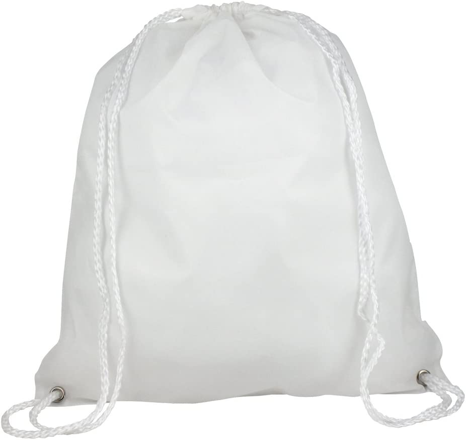 eBuyGB Folding New Free Shipping Kids Max 80% OFF Nylon Drawstring Backpack Gym Home T Bag for