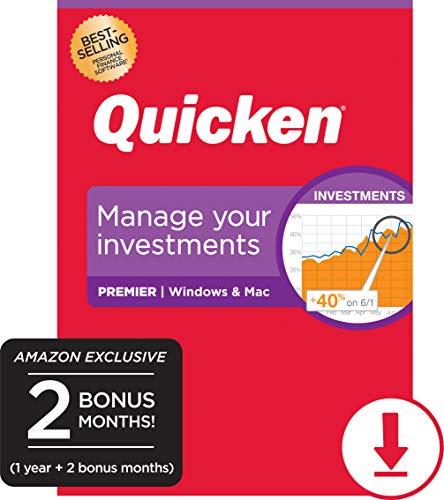 Quicken Premier Personal Finance - 14-Month Subscription [Amazon Exclusive] [PC/Mac Online Code]