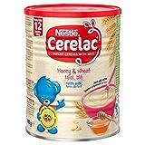Nestlé Cerelac - La miel y trigo con leche 400G (A partir de 1 año)