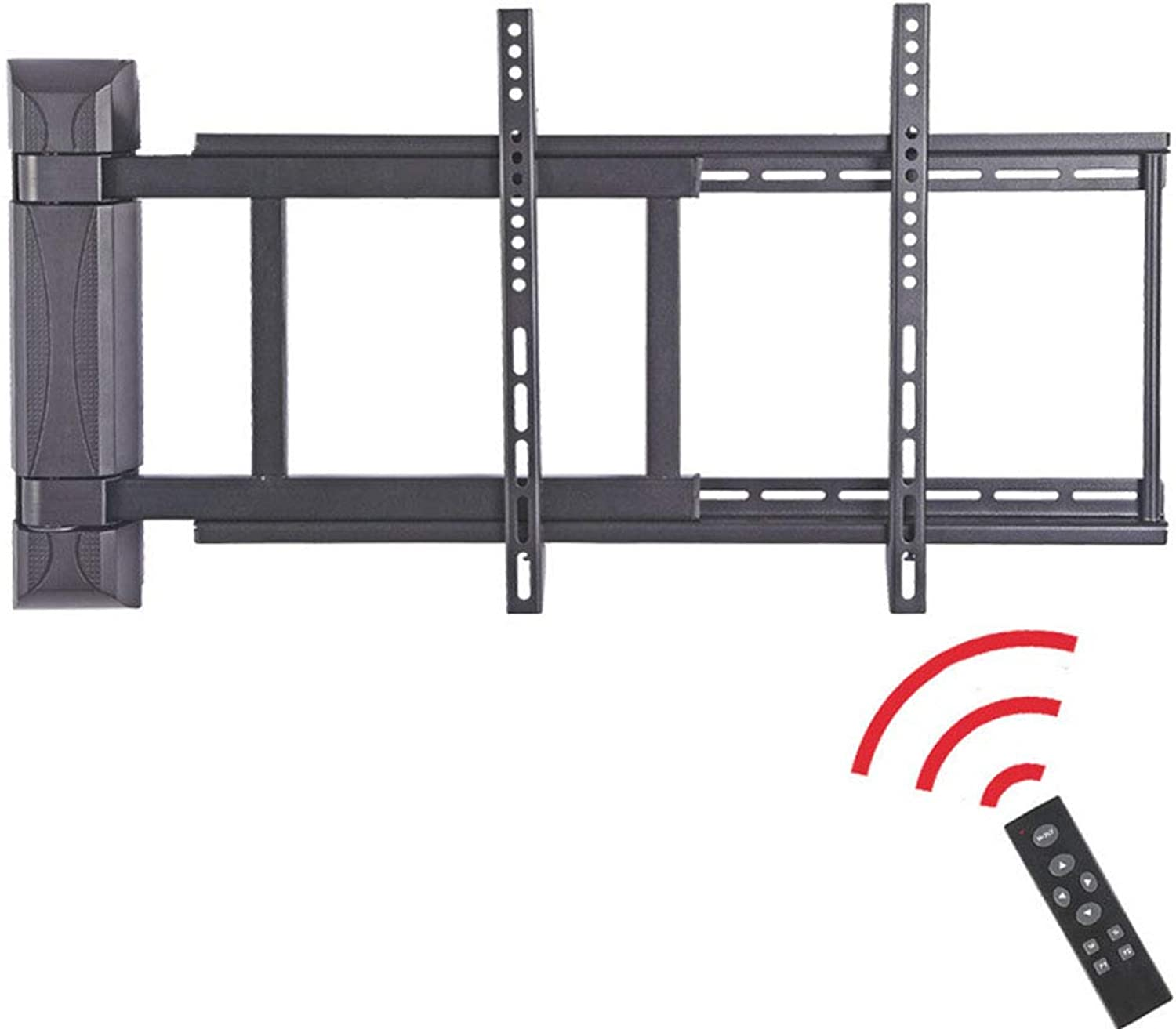 Remote Control TV Wall Bracket Mount,Electric redation for 3255 Inch LED LCD Plasma Flat Panels with Wheels Mobile 360o of Swivel Classroom Meeting Room Video Call