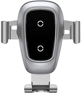 Baseus Metal Wireless Charger Gravity CarMountSilver
