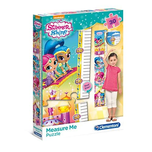 Clementoni Shimmer and Shine Meter Puzzle, 30 pezzi, 20322