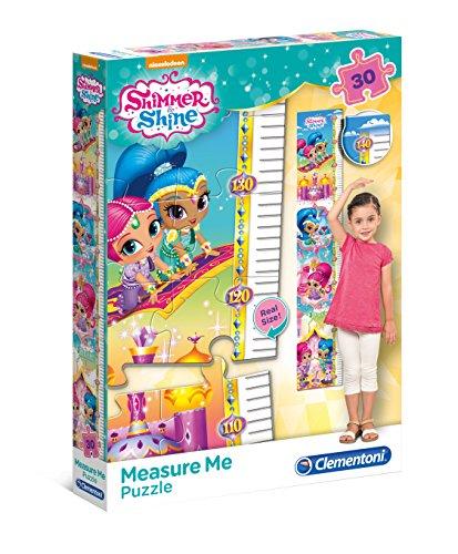 Clementoni 20322Shimmer y Shine–Máxima de Measure Me Puzzle, 30Piezas, color/modelo surtido