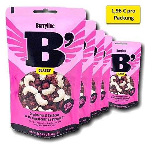 Super-Sparangebot 5er Pack Berryline B'CLASSY