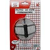 Tecnhogar 00777 Filtro café Nylon, Papel, Gris