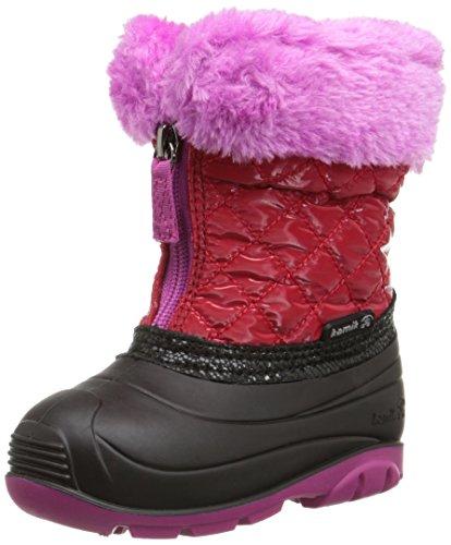 Kamik Fluffball Snow Boot (Toddler), Red, 7 M US Toddler