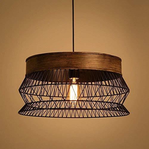 Office kroonluchter Modern Creative Industrial Pendant Lamp Mesh Ontwerp Lampekap Vintage Black Pendant Lamp Ronde Opknoping Lamp Creative eettafel Lamp Living Room Lamp Onderzoek kamer kroonluchter