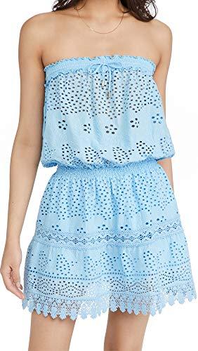 Melissa Odabash Women's Iris Dress, Cornflower, Blue, Small