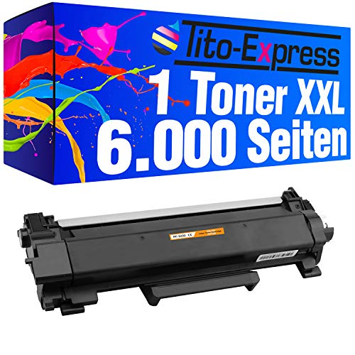 Tito-Express PlatinumSerie 1x Toner-Patrone mit Chip Super-XL für Brother TN-2420 HL-L2310D L2375DW L2370DN MFC-L2710DN L2710DW L2712DN L2712DW L2730DW L2732DW L2750DW L2510D L2512D L2550DN