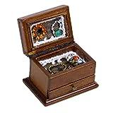 Xiton 1/12 Maison de poupée Miniature Affichage Bijoux Accessoires Boîte de Rangement Poupée Décoration Chambre